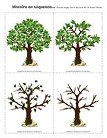 Histoire en séquence-Les arbres