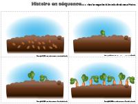 Histoire en séquence-légumes