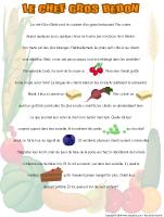 Histoire imagée - Alimentation