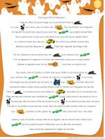 Histoire imagée - Halloween