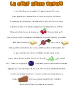 Histoire imagée - L'alimentation