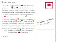 Histoire imagée-Carte postal du Canada