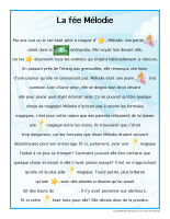 Histoire imagée-La fée Mélodie-1