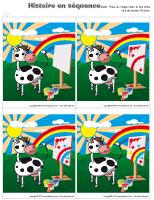 Histoires en séquence - La peinture