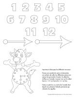 Horloge-Les vaches