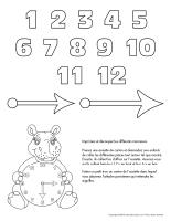 Horloge hippopotame
