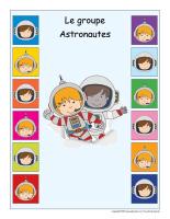 Identification groupe-Astronautes