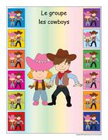 Identification groupe-Les cowboys