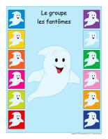 Identification groupe-Les fantômes