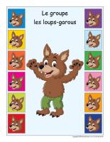 Identification groupe-Les loups-garous