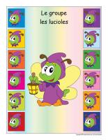 Identification groupe-Les lucioles