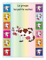 Identification groupe-Les petites vaches