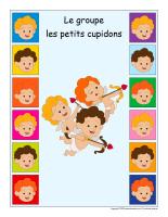 Identification groupe-Les petits cupidons