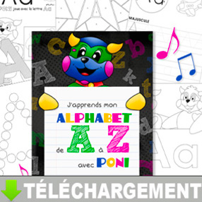 Image-document-Alphabet Poni