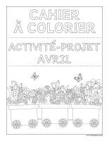 Images à colorier-Activité-projet-avril-1