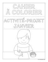 Images à colorier-Activité-projet-janvier