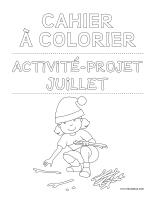 Images à colorier-Activité-projet-juillet-1