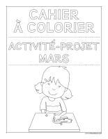 Images à colorier-Activité-projet-mars-1