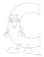 Images à colorier-Alphabet-3