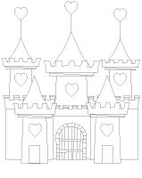 Images à colorier-Au royaume des coeurs