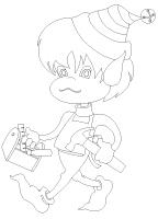 Images à colorier-Bricolages de Noël