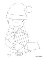 Images à colorier-Bricos-cadeaux
