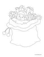 Images à colorier-Cadeaux