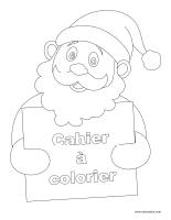 Images à colorier-Cahier de Noël 2014