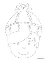 Images à colorier-Chapeaux