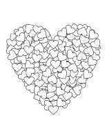 Coloriage De Coeur En Couleur.Journee Speciale Coeurs En Couleurs Activites Pour Enfants