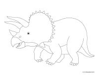 Images à colorier-Dinosaures