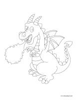 Images à colorier-Dragons