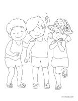Images à colorier-Festivals d'été