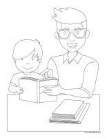 Images à colorier-Fête des Pères-2020