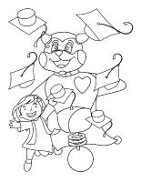 Images à colorier-Graduation de Poni