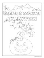 Images à colorier-Halloween