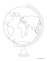Images à colorier-Jour de la Terre