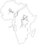 Images à colorier-L'Afrique