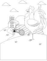 Images à colorier-L'agriculture