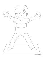 Coloriage Gymnase Ecole.La Gymnastique Activites Pour Enfants Educatout