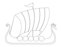 Images à colorier-Les Vikings