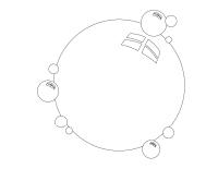 Images à colorier-Les bulles