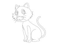 Images à colorier-Les chats et les chatons