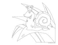 Images à colorier-Les escargots