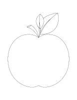 Images à colorier-Les pommes