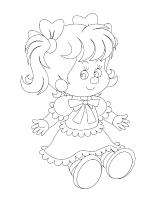 Images à colorier-Les poupées