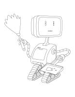 Images à colorier-Les robots