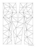 Images à colorier-Lettre M