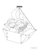Images à colorier-Matelots