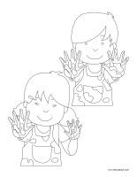 Images à colorier-Maternelle